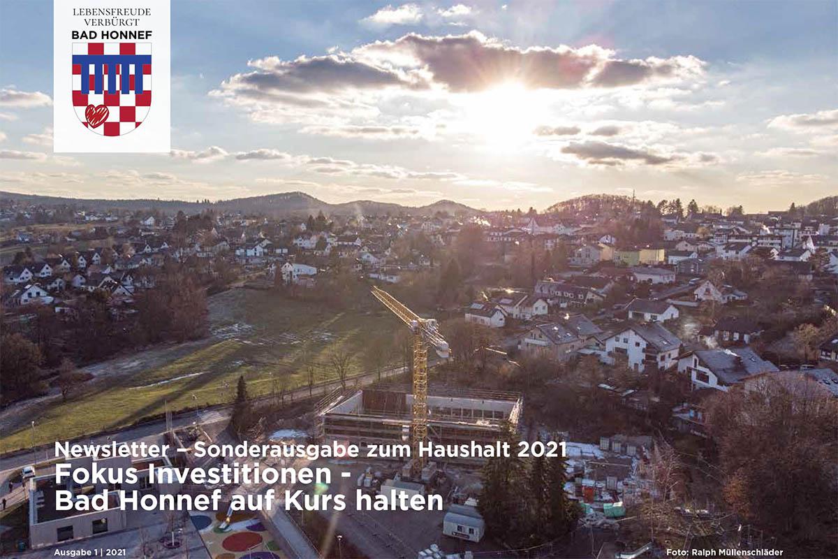 Neue Broschüre informiert über städtischen Haushalt Bad Honnef