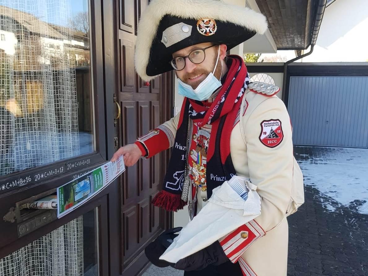 Herkersdorf-Offhausen: Karnevals-Glück trotz Corona