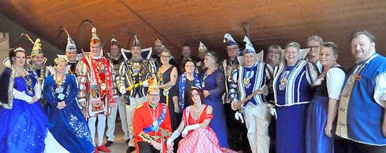 Prinzenfr�hst�ck bei den Hobby-Carnevalisten Erbachtal