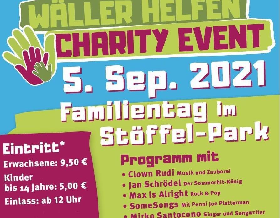 Fluthilfe: Wäller Helfen bringt großes Charity Event in den Stöffelpark