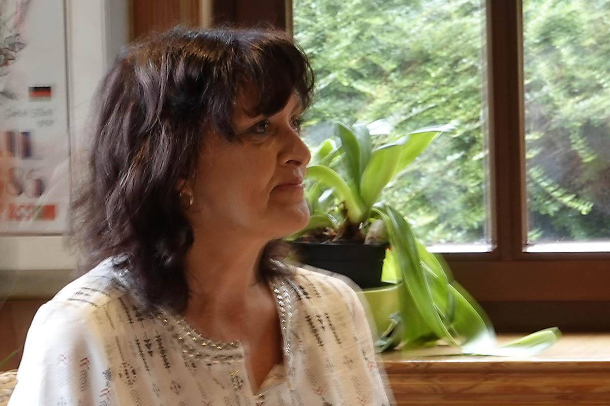 Unterhaltsame Lesung mit Annegret Held in Marienthal
