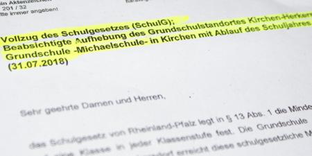 Grundschule Herkersdorf: Neue Hoffnung nach Mainzer Gespr�ch