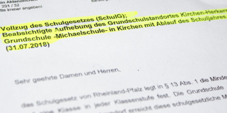 Grundschule Herkersdorf: ADD verk�ndet Schlie�ung zum Schuljahresende