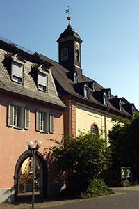 Die Herrnhuter Kirche. Foto: Stadt Neuwied