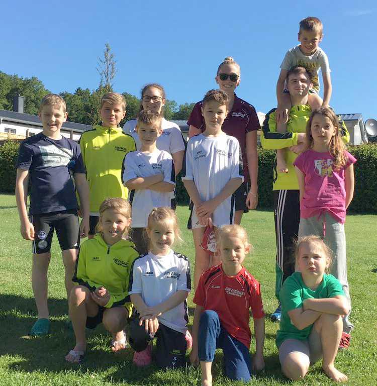 Schwimmteam Daaden-Wissen beim Schwimmfest in Herschbach erfolgreich