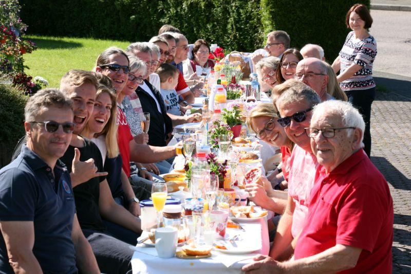 Höhr-Grenzhausen frühstückt 2019. Foto: Veranstalter