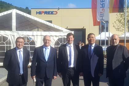 Chinesische Firma Hipreed GmbH in Mudersbach offiziell eröffnet