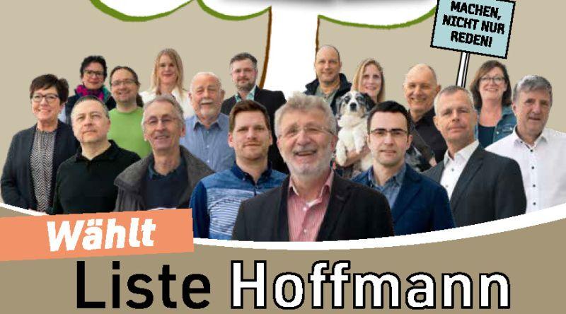 """Wählergruppe HOFFMANN"" tritt erstmals bei Kommunalwahl an"
