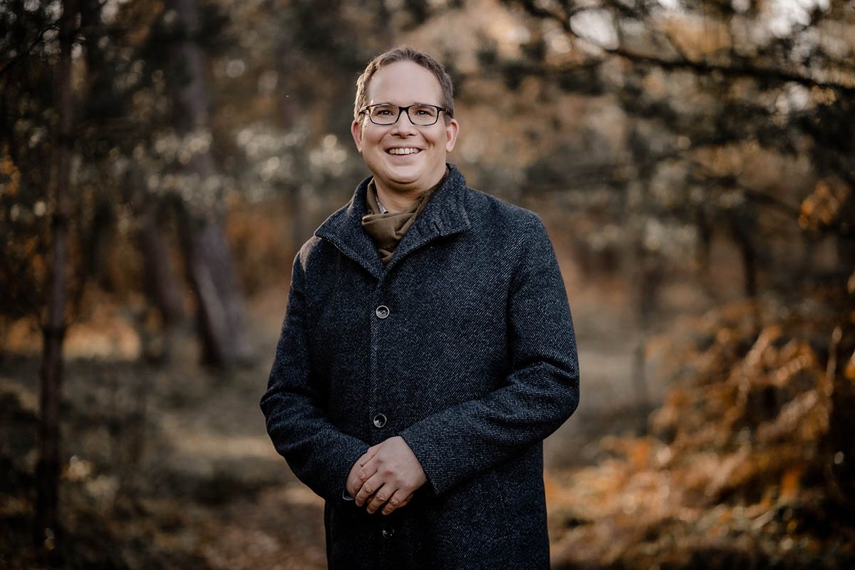 Landtagskandidat Holger Wolf (Grüne) stellt sich vor