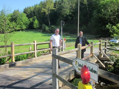 Wirtschaftswegebrücke im Holperbachtal ist freigegeben