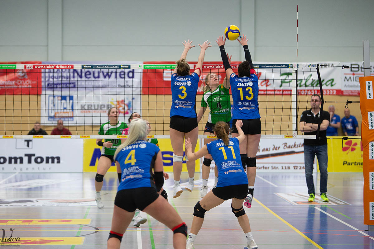 VC Neuwied empfängt TV Holz am Samstag