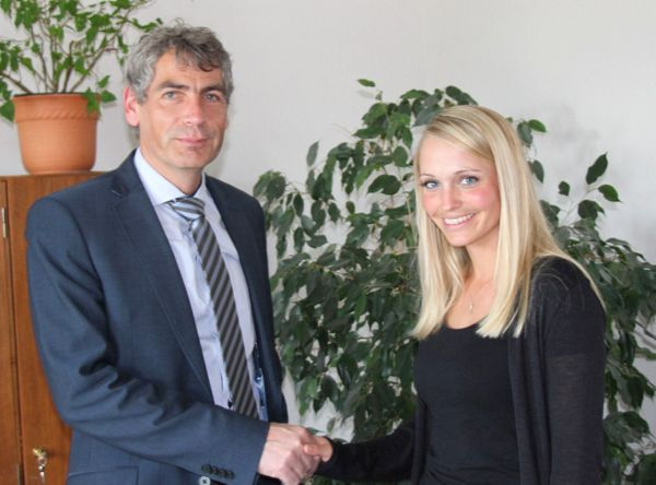 Die Neue ist keine Unbekannte: Sabrina Holzer leitet Kita �Meilenstein�
