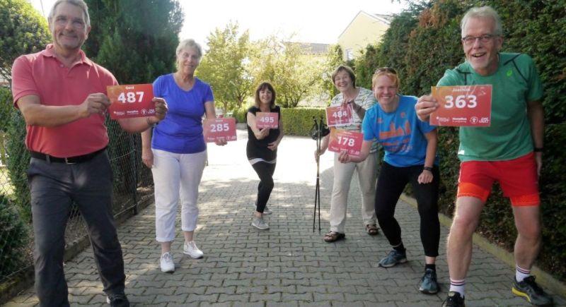 Von links: Gerd Meurer, Astrid Roos, Karin Reß, Heidi Ramb, Marthe Mareike Wolff und Joachim Türk. Foto: DKSB Höhr-Grenzhausen
