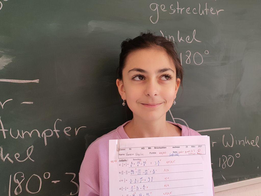 Von der 5 zur 1 in Mathe - Homeschooling-Helden haben geholfen