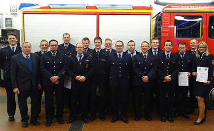 Freiwillige Feuerwehr Horhausen zog Bilanz