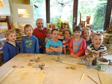 Kinder entdecken in Projekten die Erde und Umwelt