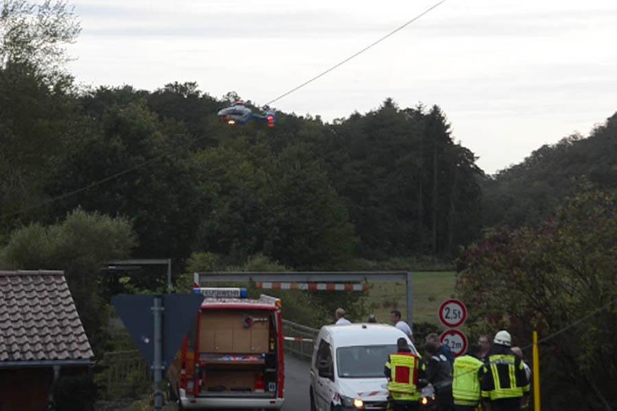 Hubschrauberabsturz in Oberlahr: Zwei Tote | WW-Kurier.de