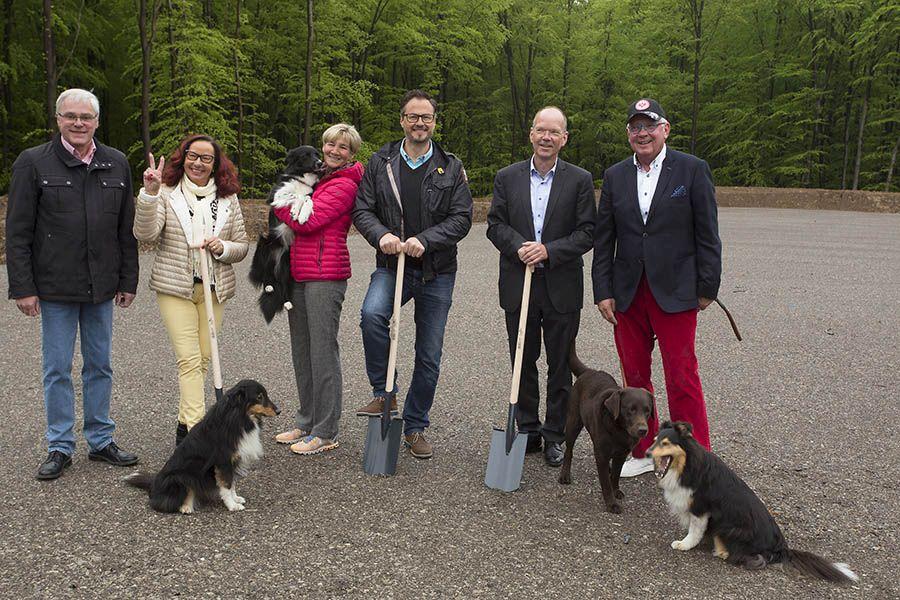Hundesporthalle Westerwald wird in Höhr-Grenzhausen gebaut