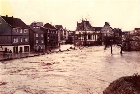 1984: Das Sieg-Jahrhunderthochwasser