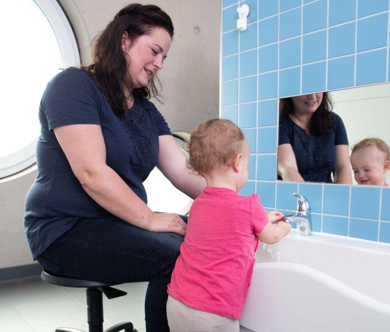 Hygieneregeln für Kinder anschaulich erklärt