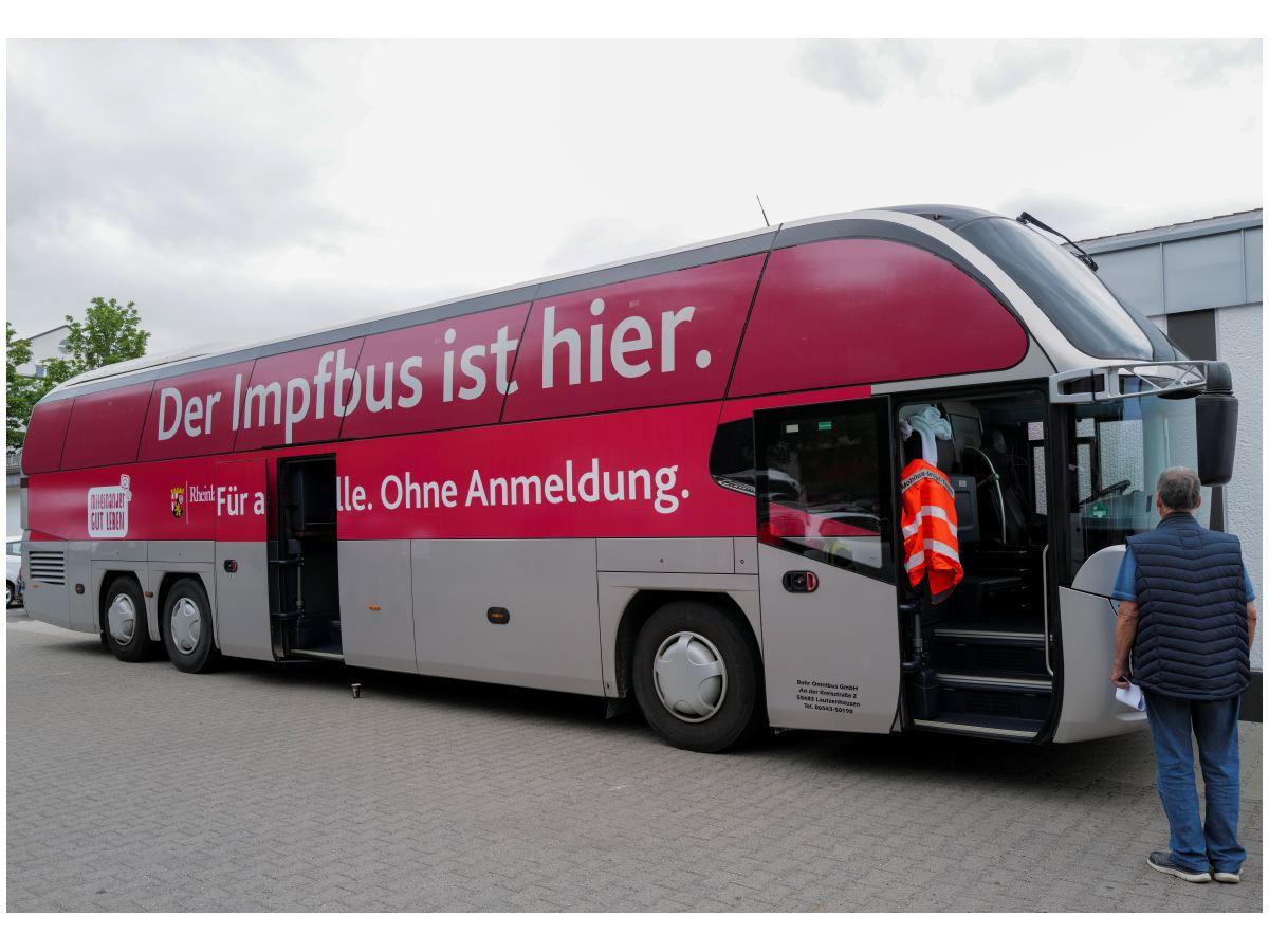 Impfbus bald in Wallmerod, Herschbach, Westerburg und Bad Marienberg