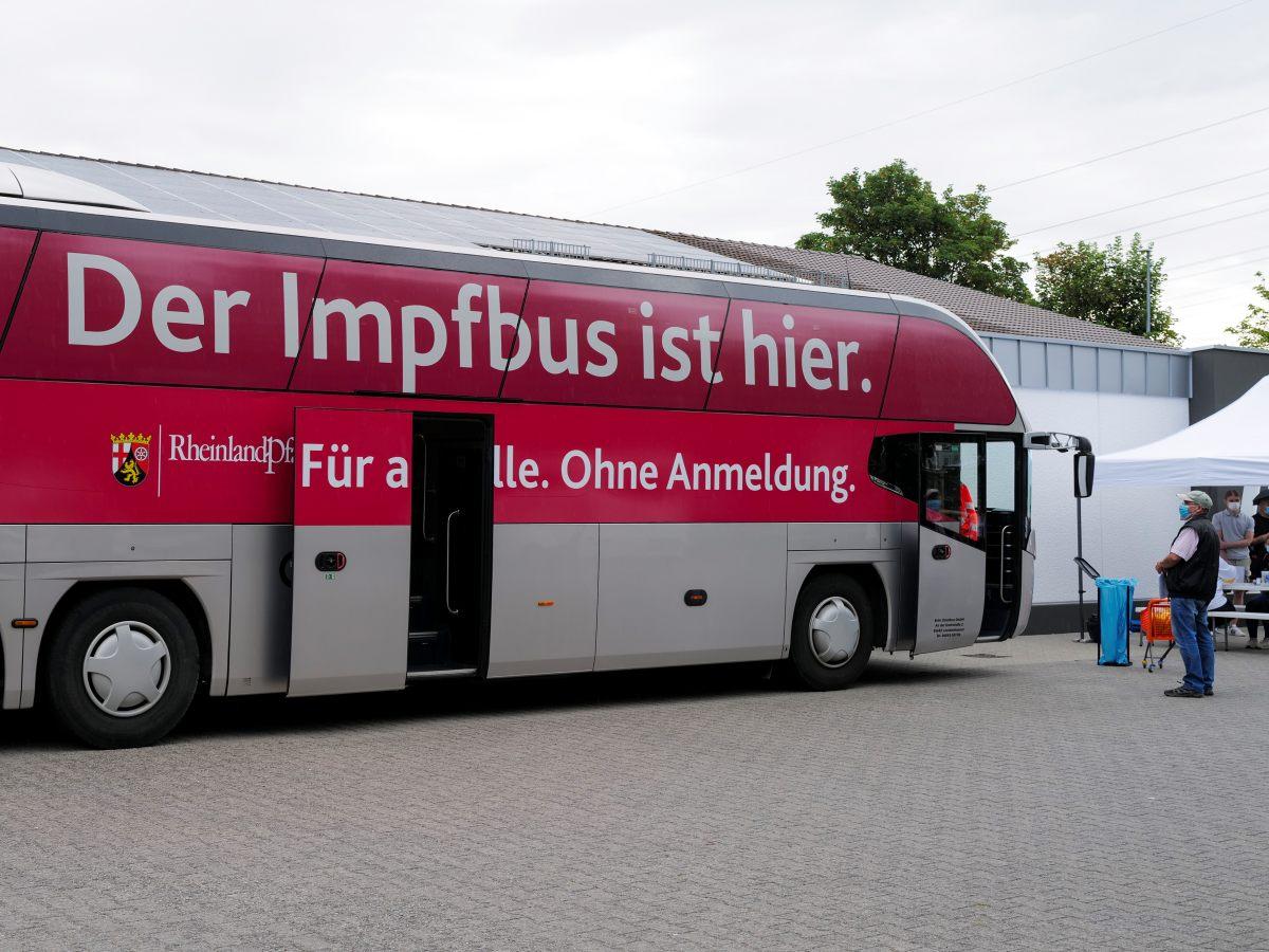 Impfbus kommt am Freitag, den 3. September, nach Betzdorf