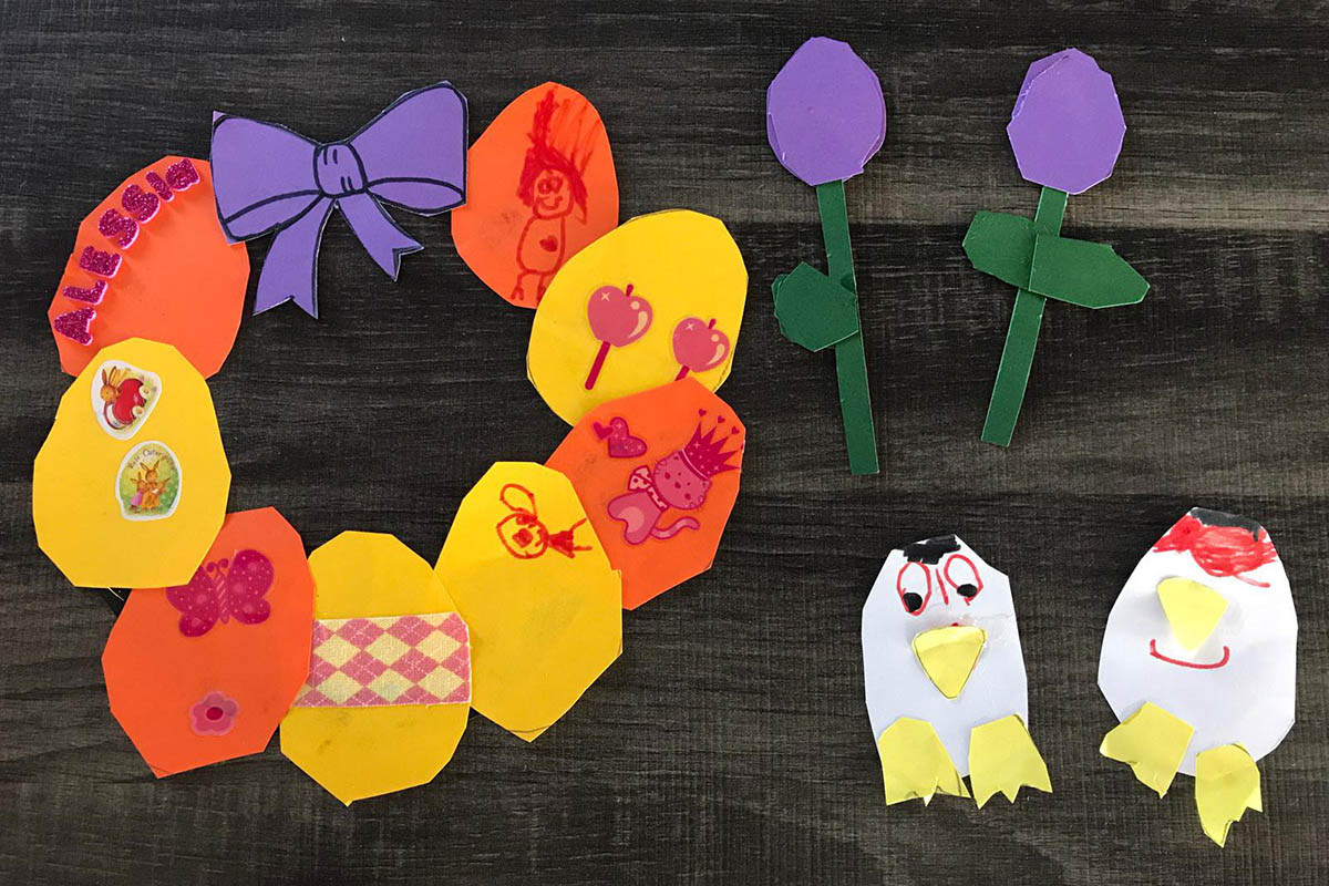 Kinder aus dem Puderbacher Land sind kreativ und machen Ostern bunt