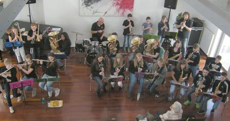 Spitzenkonzert der Orchesterklasse 6 der IGS Hamm