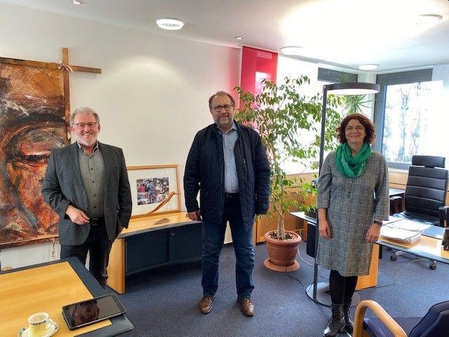 Besuch der IHK Koblenz im Rathaus Hachenburg