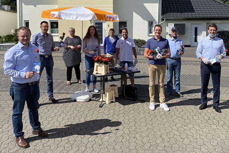 Pfingstgrüße der CDU Oberbieber mit Christian Baldauf (MdL)