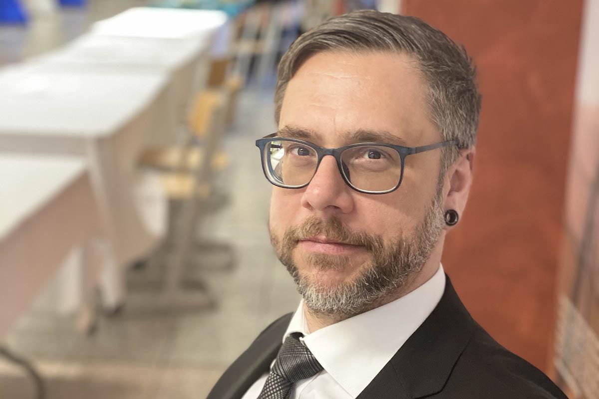 Landtagskandidat Oliver Köppl (Grüne) stellt sich vor