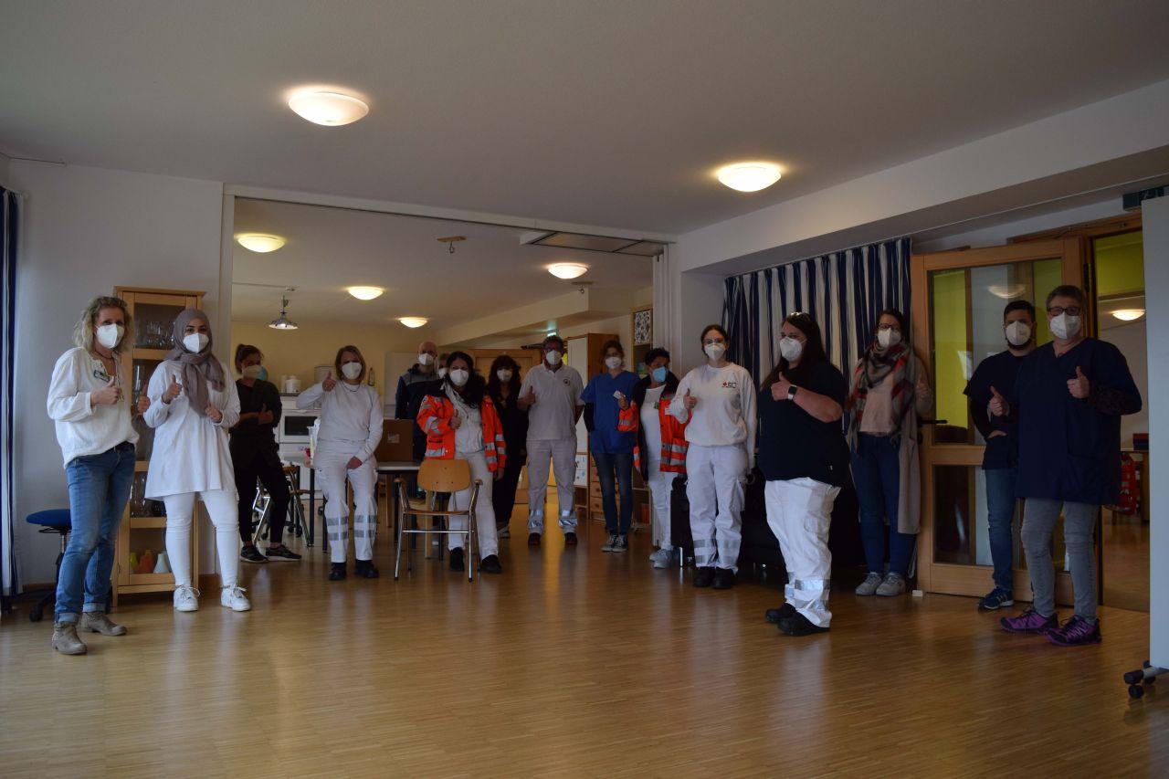 Große Impfaktion in den Einrichtungen für Behindertenarbeit