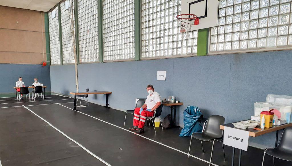 Offenes Impfangebot der Stadt Neuwied im Raiffeisenring