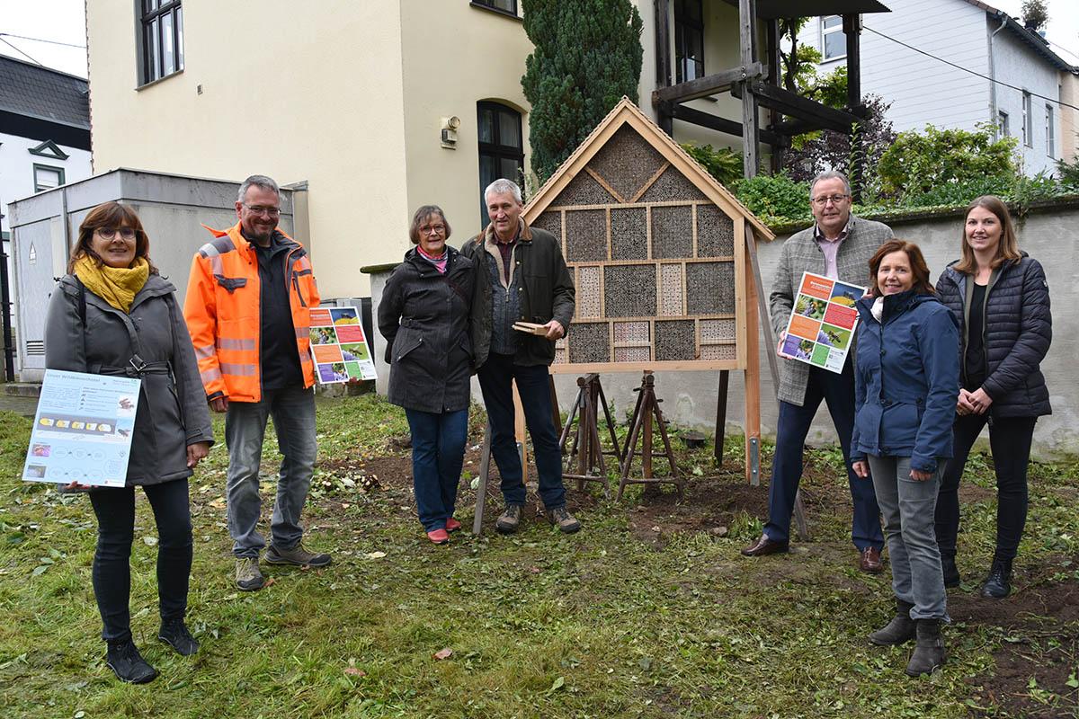 Insektenhotel in Linz eröffnet