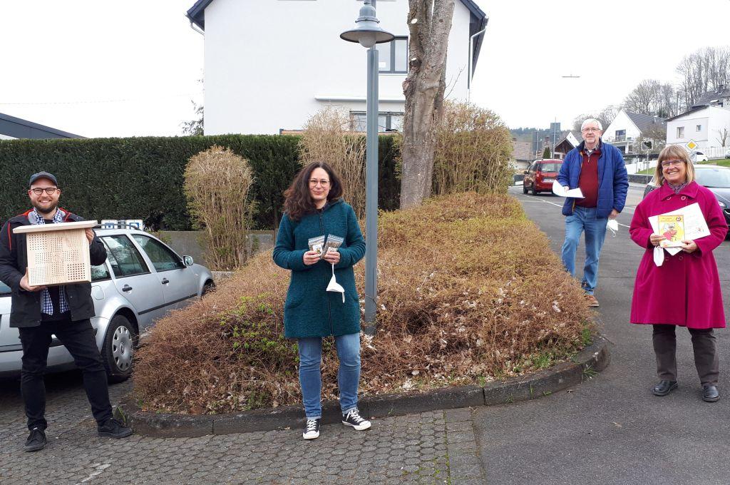 Am Karl-Herbert-Haus entsteht bienenfreundliche Blühwiese