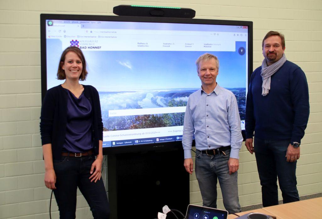 Relaunch des städtischen Internetportals von Bad Honnef