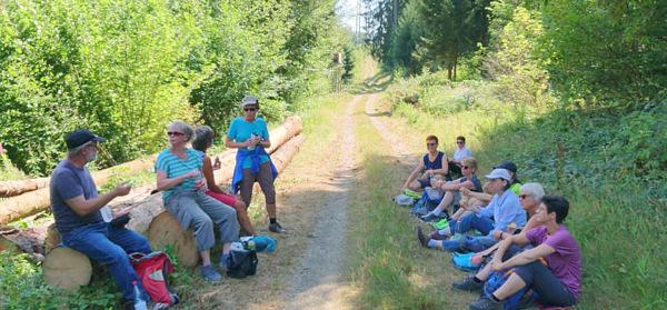 Wanderer der DJK Jahnschar im Wildenburger Land