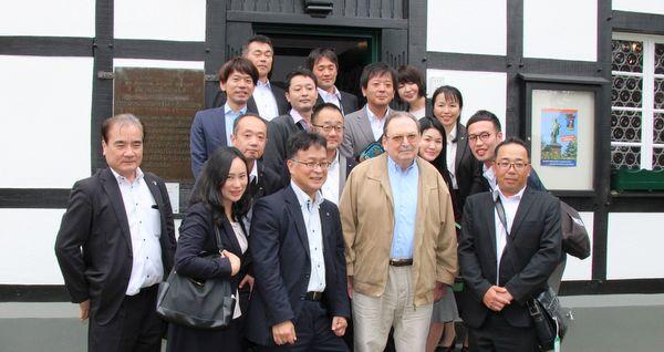 Besuch aus Japan im Deutschen Raiffeisenmuseum in Hamm