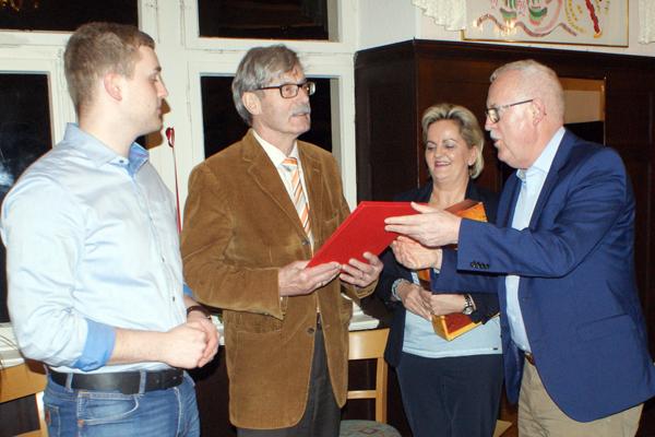 Ehrung bei SPD-Kreisvorstandssitzung