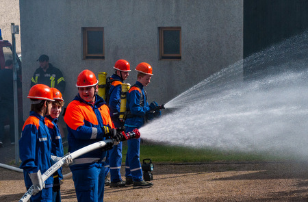 """Firefighter Action Day"" in Marienrachdorf"