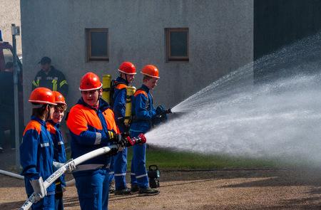 """Die Jugendfeuerwehren sind ein Garant für gut ausgebildeten Feuerwehrnachwuchs. Mit einem """"Firefighter Action Day"""" am 29. April wollen die Feuerwehren Krümmel-Sessenhausen und Marienrachdorf für ihre Arbeit und die Bedeutung der Feuerwehren werben. (Foto: Veranstalter)"""