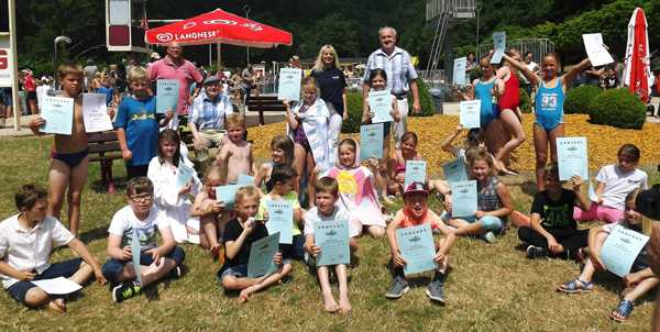 Schwimmfest der Bendorfer Grundschulen