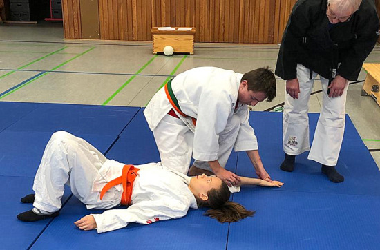 Daadener Ju-Jutsu-Jugend besuchte Trainingslager im Hunsr�ck