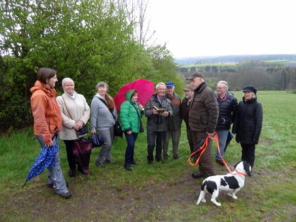 Abendexkursion mit Gerd Frink führte ins Naturschutzgebiet