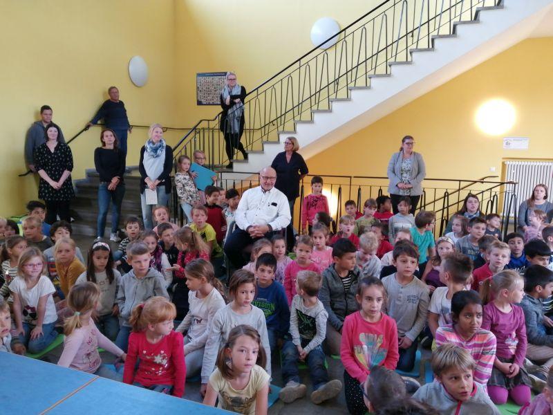 Kinder verabschiedeten ehemaligen Stadtbürgermeister Guido Job