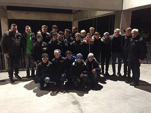 C-Jugend-Fu�baller der JSG Wisserland auf Tour