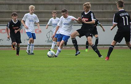 Die JSG Wisserland mit 1:1 gegen Tabellenführer Eisbachtal
