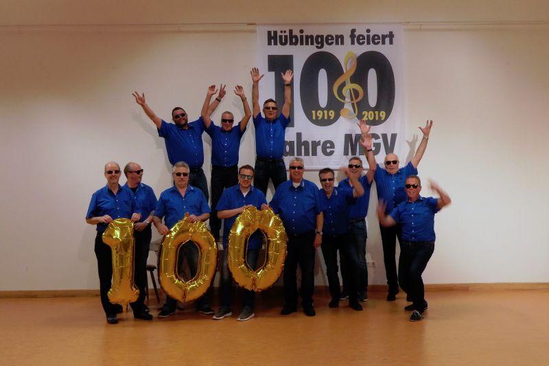 100-jähriger Geburtstag des MGV Hübingen wird groß gefeiert