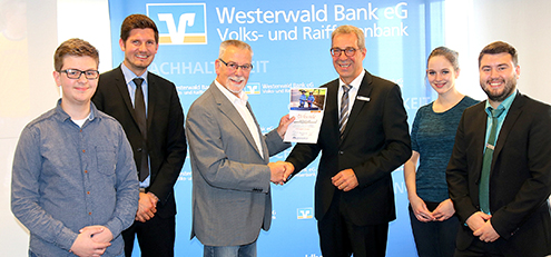 Westerwald Bank verabschiedete langjährigen Fahrradsicherheitstrainer