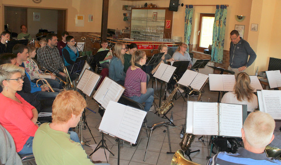 Jugendblasorchester ist gerüstet für das Frühjahrskonzert